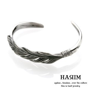 HARIM ハリム オウル フェザー バングル シルバー [sunlight]|beyondcool
