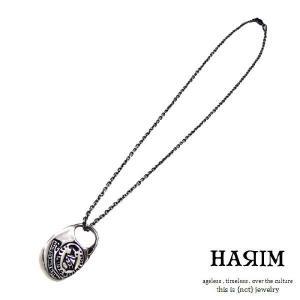 HARIM ハリム エクスリブリススタンプペンダントシルバー - stamp pendant|beyondcool