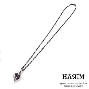 HARIM ハリム エクスリブリススタンプハートペンダントシルバー - stamp heart pendant|beyondcool