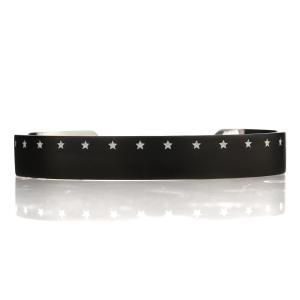 IVXLCDM アイブイエックスエルシーディーエム FIFTEENTH STAR BANGLE MATTE BLACK / WHITE|beyondcool|02