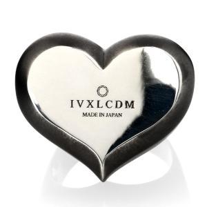 IVXLCDM アイブイエックスエルシーディーエム I.D HEART SHAPED RING MATBLACK-SILVER beyondcool 02