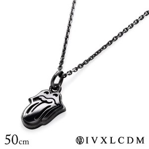 IVXLCDM アイブイエックスエルシーディーエム ペンダント THE ROLLING STONE LIPS & TONGUE CHARM NECKLACE 50cm|beyondcool
