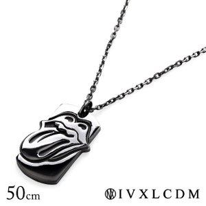 IVXLCDM アイブイエックスエルシーディーエム ペンダント THE ROLLING STONE LIPS & TONGUE NECKLACE 50cm|beyondcool