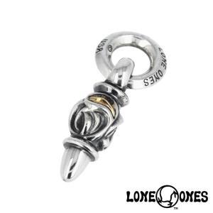LONE ONES ロンワンズ イーグルペンダント w/K18ローズゴールドアイズ|beyondcool
