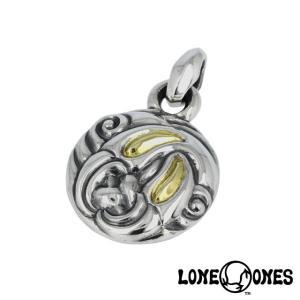 LONE ONES ロンワンズ ネストペンダント L w/K18イエローゴールドアイズ|beyondcool