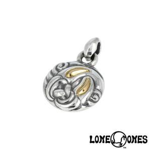 LONE ONES ロンワンズ ネストペンダント M w/K18ローズゴールドアイズ|beyondcool