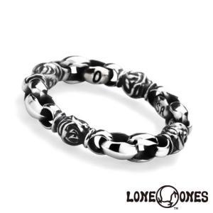 ロンワンズ ミニシルクリンク&イーグルバーレル リング LONE ONES 指輪|beyondcool