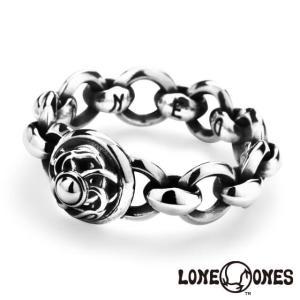 ロンワンズ ミニシルクリンク w/サークル&クレーンドームリング LONE ONES 指輪|beyondcool