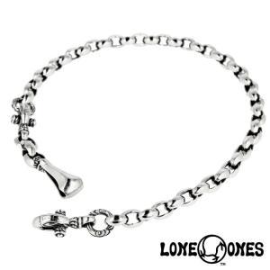LONE ONES ロンワンズ シルクリンクウォレットチェーン M - ロング(46cm〜60cm) w/ベルトフック&クラスプ 1.0インチ|beyondcool