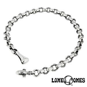 LONE ONES ロンワンズ ヘロンウォレットチェーン - ロング(46cm〜60cm) w/ベルトフック&クラスプ 1.0インチ|beyondcool