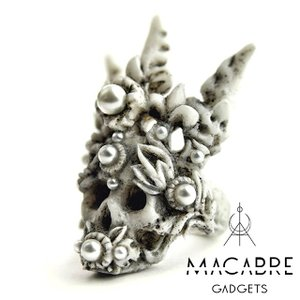 Macabre Gadgets マカブルガジェッツ CORAL CROWN RING コーラルクラウンリング|beyondcool