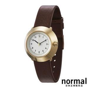 Normal Timepieces ノーマルタイムピーシーズ フジ ブラウン FUJI FOR WOMEN F03-L15BR|beyondcool