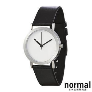 Normal Timepieces ノーマルタイムピーシーズ エクストラノーマル ホワイト 32mm EXTRA NORMAL - LEATHER EN01-L18BL|beyondcool