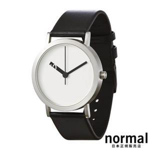 Normal Timepieces ノーマルタイムピーシーズ エクストラノーマルホワイト 38mm EXTRA NORMAL GRANDE EN21-L20BL|beyondcool