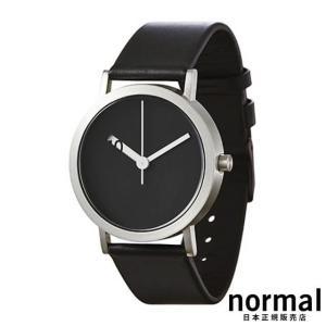Normal Timepieces ノーマルタイムピーシーズ エクストラノーマルブラック 38mm EXTRA NORMAL GRANDE EN22-L20BL|beyondcool