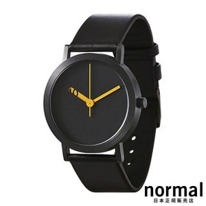 Normal Timepieces ノーマルタイムピーシーズ エクストラノーマル ブラック 38mm EXTRA NORMAL GRANDE EN29-L20BL|beyondcool