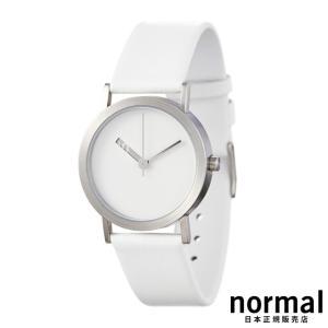 Normal Timepieces ノーマルタイムピーシーズ エクストラノーマル ホワイトホワイト 32mm EXTRA NORMAL - LEATHER EN02-L18W1|beyondcool