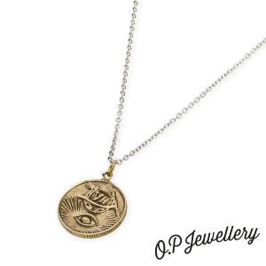O.P Jewellery オーピージュエリー エクスプローラーズフォーチュンペンダント ブラス|beyondcool