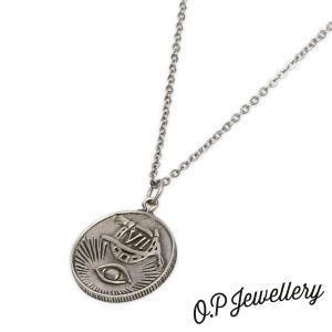 O.P Jewellery オーピージュエリー エクスプローラーズフォーチュンペンダント シルバー|beyondcool