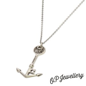 O.P Jewellery オーピージュエリー リバティーキーペンダント シルバー|beyondcool