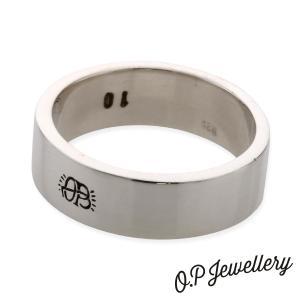 O.P Jewellery オーピージュエリー ブランクリング シルバー|beyondcool