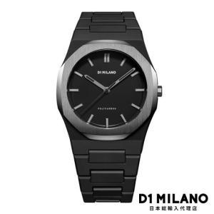 D1ミラノ 日本総輸入代理店 腕時計 メンズ 時計 D1 MILANO D1ミラノ New Polycarbon Gun Case with Bracelet|beyondcool