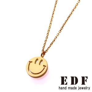 EDF イーディーエフ 70's smile スマイル チャーム S ゴールドコーティング beyondcool