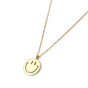 EDF イーディーエフ 70'S SMILE NECKLACE (XS) K18 70'S スマイルペンダント XS|beyondcool