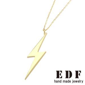 EDF イーディーエフ K18 カッティングボルトペンダントM beyondcool