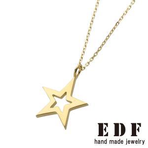 EDF イーディーエフ k18 フレームスターペンダントS Frame STAR S beyondcool