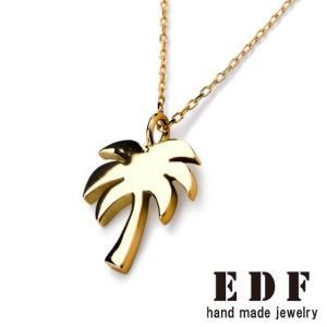 EDF イーディーエフ K18パームツリー ペンダント K18 Palm tree|beyondcool