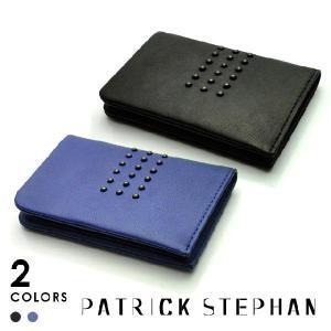 Patrick Stephan パトリックステファン レザー カードケース スタッズ|beyondcool
