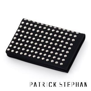Patrick Stephan パトリックステファン レザーカードケース - オールスタッズ - シルバー|beyondcool