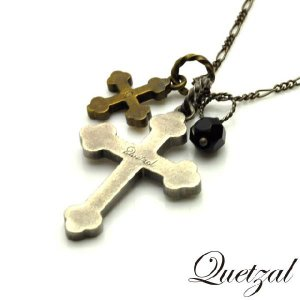 quetzal ケツァール Croix Necklace A ver クロワネックレス A|beyondcool