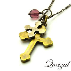 quetzal ケツァール Croix Necklace B ver クロワネックレス B|beyondcool