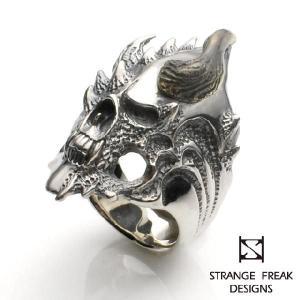 STRANGE FREAK DESIGNS ストレンジフリークデザインス アエロファンテ2 イーブルホーン リング|beyondcool