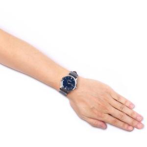 ウルトラ 腕時計 Ultra Superautomatic NAVY / SILVER / NAVY LEATHER|beyondcool|03