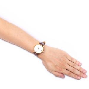 ウルトラ 腕時計 Ultra Superautomatic WHITE / ROSE GOLD COGNAC LEATHER|beyondcool|03