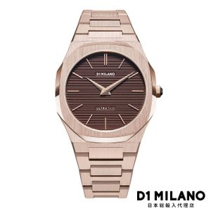 D1ミラノ 日本総輸入代理店 新作 腕時計 メンズ - シャンパンブラウン - UT RESTYLING|beyondcool