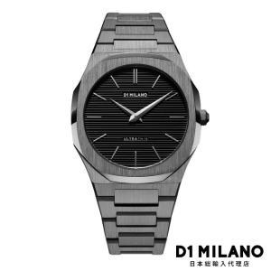 D1ミラノ 日本総輸入代理店 新作 腕時計 メンズ - ガンメタル - UT RESTYLING|beyondcool