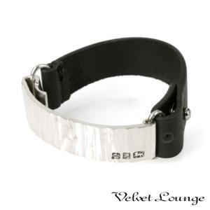 Velvet Lounge ヴェルヴェットラウンジ Large scale leather ラージスケールレザーブレスレット beyondcool