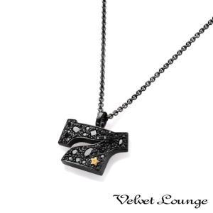 Velvet Lounge ヴェルヴェットラウンジ スターダストセブンスターペンダント ブラック beyondcool