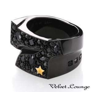 Velvet Lounge ヴェルヴェットラウンジ スターダストセブンスターリング ブラック|beyondcool