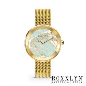 ROXXLYN ロクスリン アマゾナイト ゴールド|beyondcool
