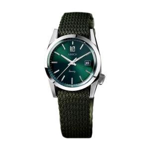 MARCH LA.B マーチエルエービー Seventy/Three - 36mm Silver Case Green Dial|beyondcool