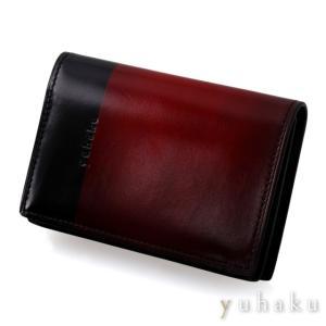 YUHAKU ユハク 名刺入れ カードケース  ワイン beyondcool
