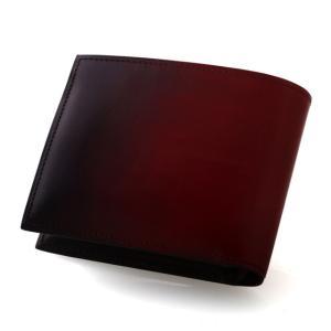 YUHAKU ユハク 二つ折り 財布 札入れ ワイン|beyondcool
