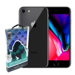 衝撃を最小限に抑える耐衝撃 iPhone 8/7 クリアケース 黄ばみにくい素材を使用|bfd