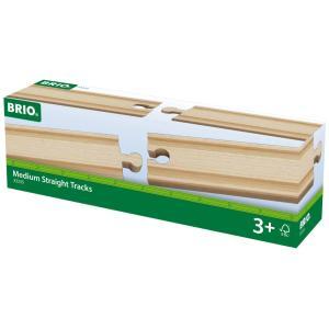 BRIO 直線レール144mm 33335|bfe