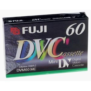 Fujifilm dvc-m60デジタルVideocassette1パック bfe